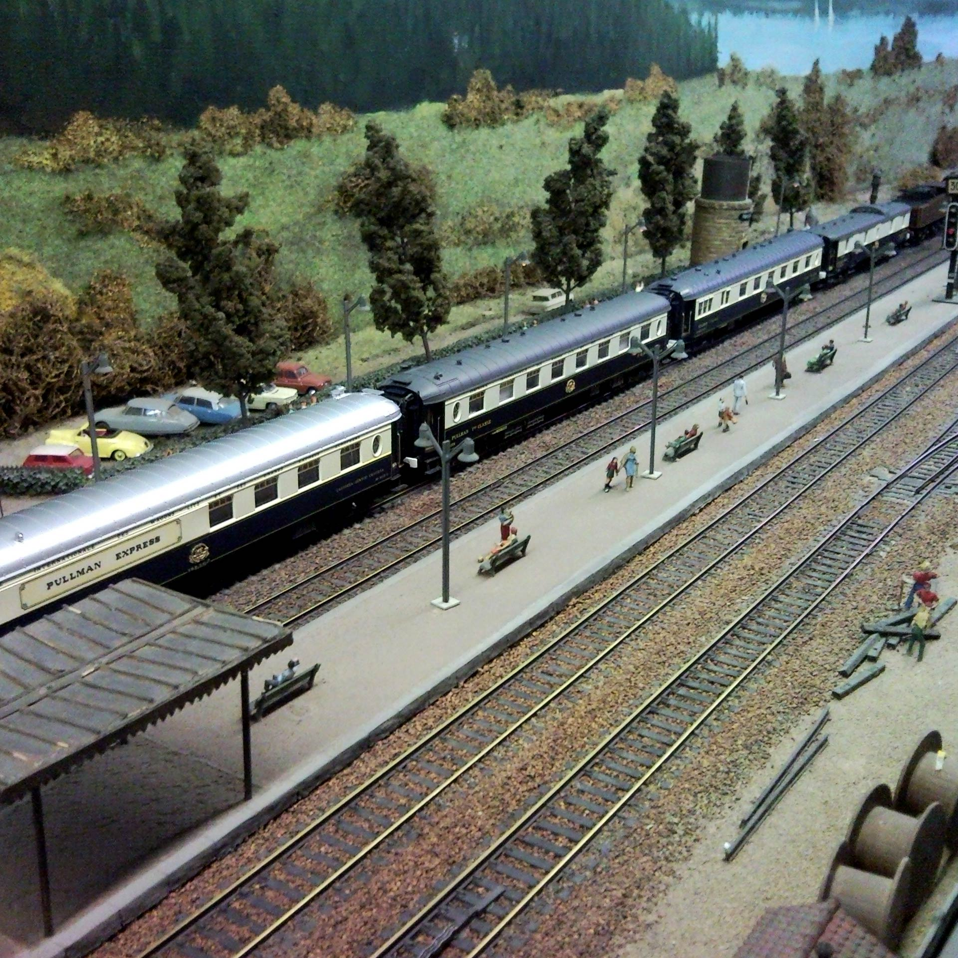 Le Train miniature